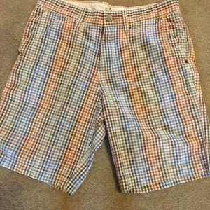 Tommy Bahama men's Shorts Sz 32, small plaid